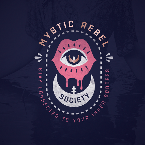 Magical logo with the title 'Witchy logo design '