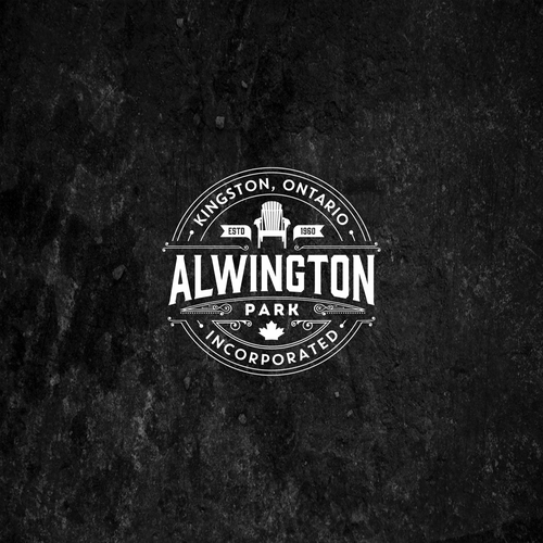 Swirly logo with the title 'Alwington Park'