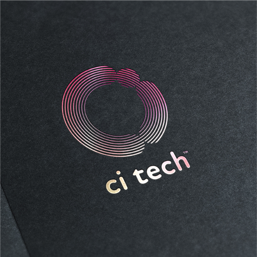Foil logo with the title 'Modern Tech Company'