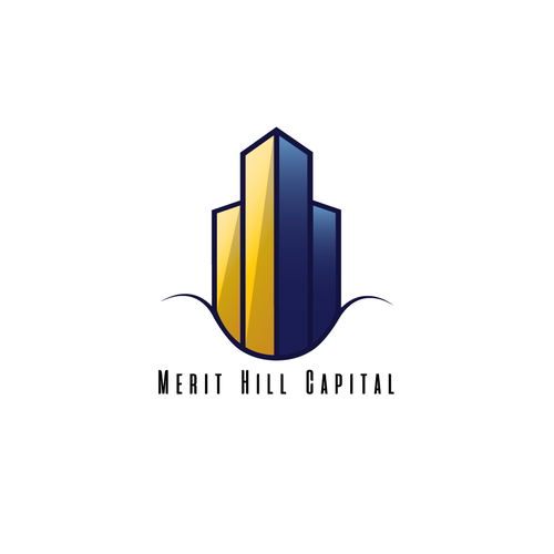 Skyscraper design with the title 'Logo concept for private equity investment shop that focuses on commercial real estate investments,'