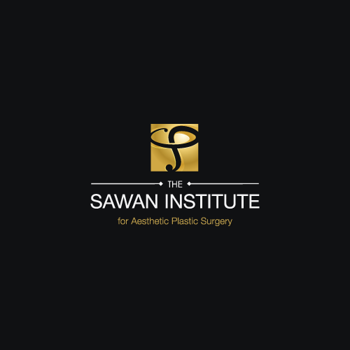 Institute logo with the title 'Logo design for The Sawan Institute for Aesthetic Plastic Surgery'