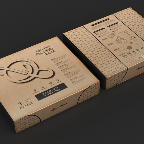 Eco-friendly packaging with the title 'Design packaging'