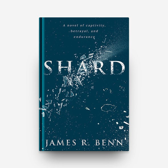"""Amazon book cover with the title '""""Shard"""" Book Cover Design'"""