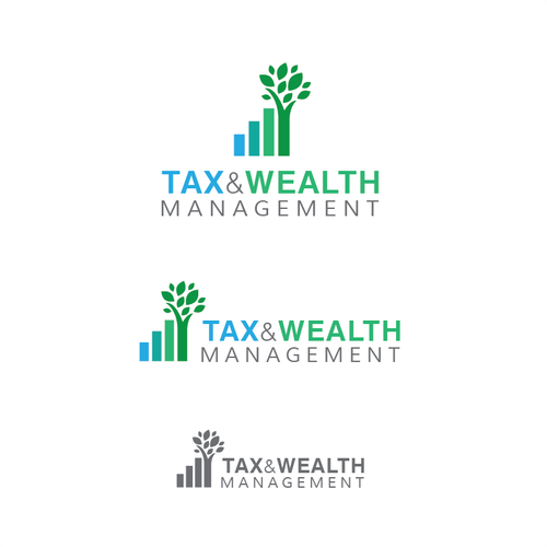 Tax logo with the title 'Logo for Tax & Financial Firm'
