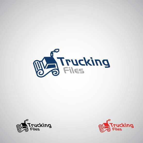 File design with the title 'trucking'