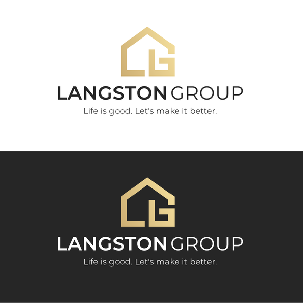 G brand with the title 'Langston Group'