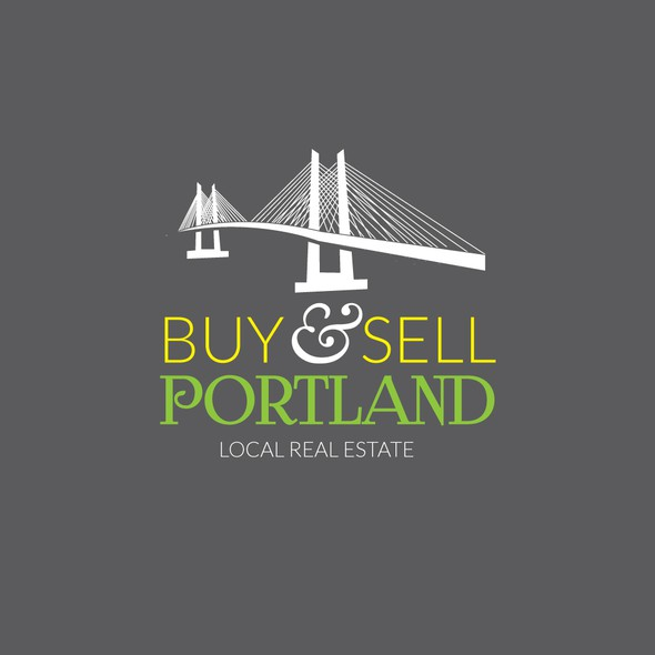 Portland logo with the title 'Logo for a Portland metro area real estate agency'
