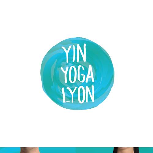 Mind logo with the title 'Yin Yoga Lyon Logo Design'