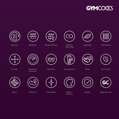 GYMCODES icons set