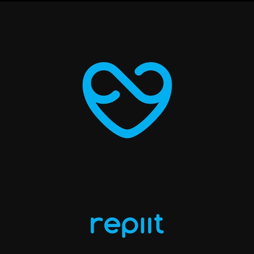 Loop logo with the title 'Bold logo design for Repiit'