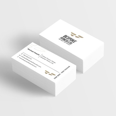 Business Card Project for Bespoke Fitness