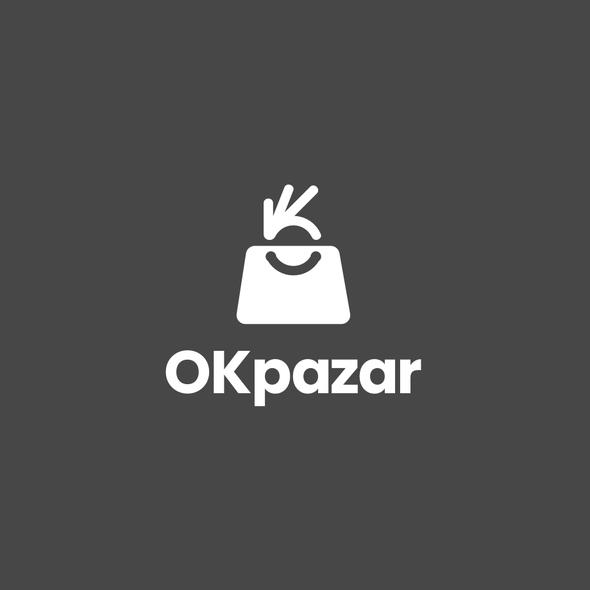 OK logo with the title 'OKpazar'