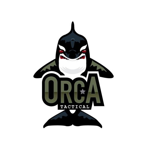 Orca logo with the title 'Orca Tactical'