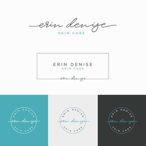 Anti aging logo with the title 'Logo for Erin Denise'