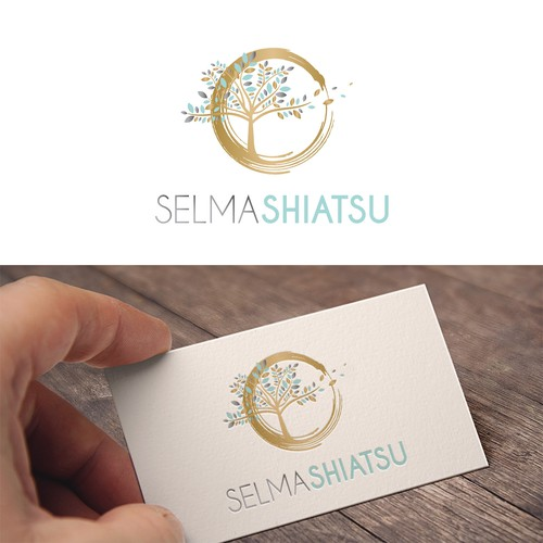 Peace design with the title 'Logo concept for a shiatsu practice'