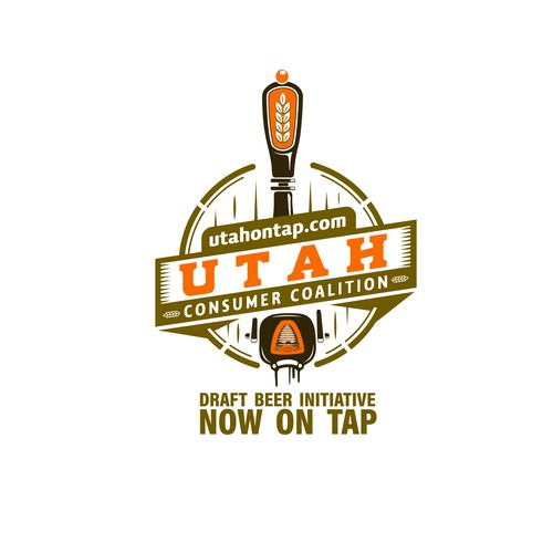 Tap design with the title 'Utah Consumer Coalition'