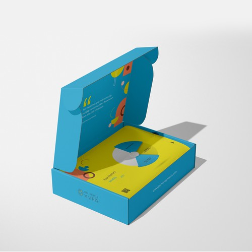 Mailer box packaging with the title 'Mailer Box '