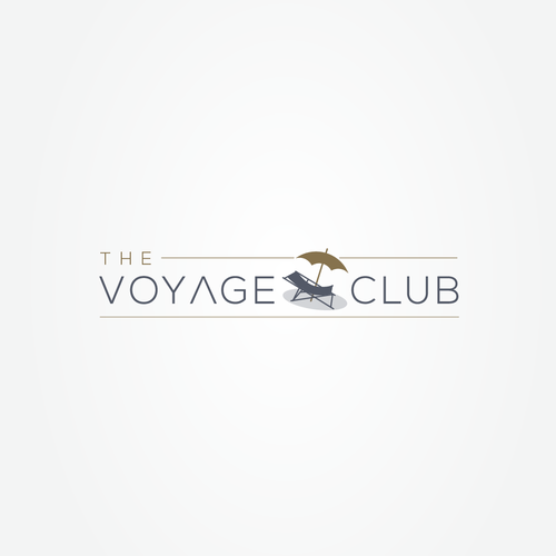 Vacation logo with the title 'the Voyage Club logo'