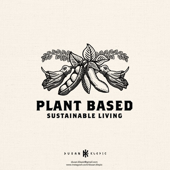 New Zealand logo with the title 'Plant Based - Sustainable living'
