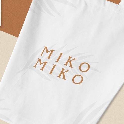 Retail logo with the title 'MIKO MIKO'
