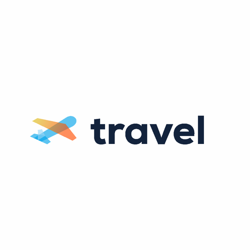 Fly logo with the title 'travel'