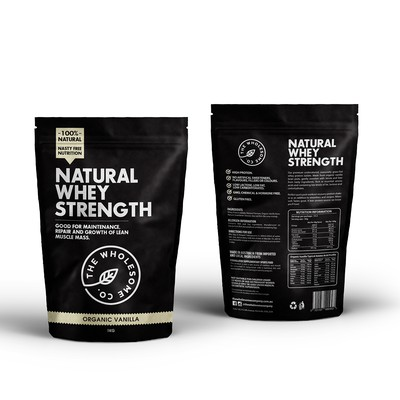 Packaging Design for Natural Protein company