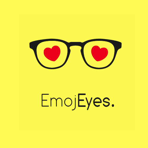 Glasses brand with the title 'EmojEyes'