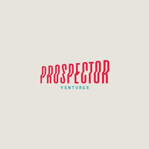 Elevation design with the title 'Prospector'