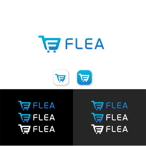 Mobile brand with the title 'FLEA'