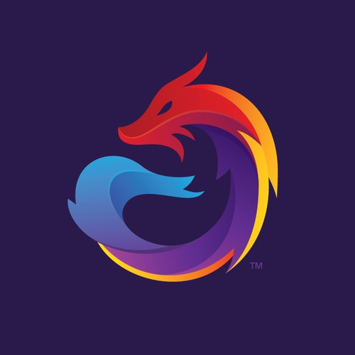 Fire design with the title 'Dragon'