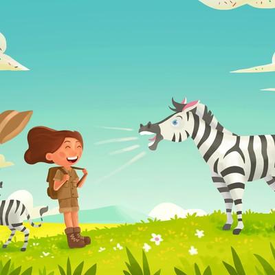 Zebra bray