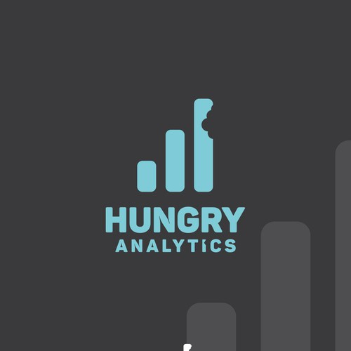 Hungry design with the title 'Hungry Analytics'