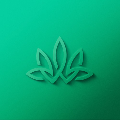 Bold logo with the title 'Bold Line Logo for Cannabis Company'
