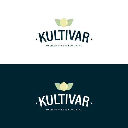 Norway and Norwegian logo with the title 'Logo concept for a local Norwegian food store'