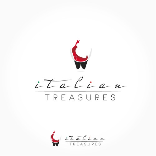 Fortune logo with the title 'Italian Treasures'