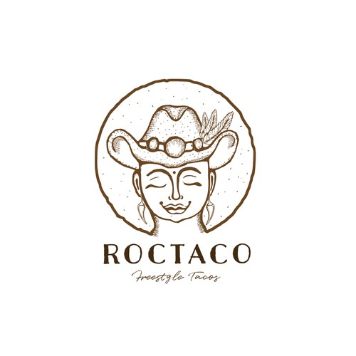 Taco logo with the title 'ROCTACO'