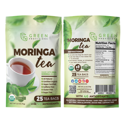 Packaging Design for Moringa tea
