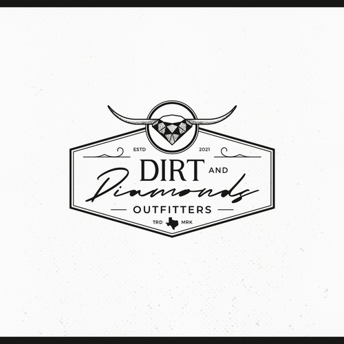 Apparel brand with the title 'Dirt and Diamonds Outfitters ...Southern company looking to attract all!'