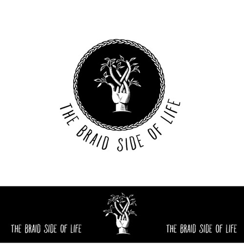 Life design with the title 'The Braid Side of Life'