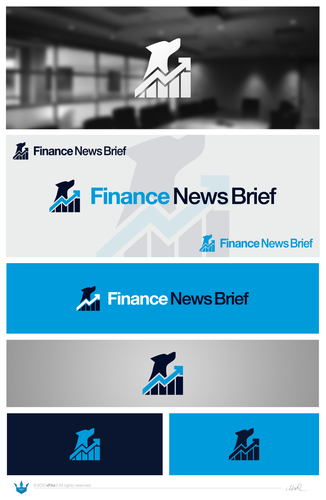 News logo with the title 'New logo wanted for Finance News Brief'