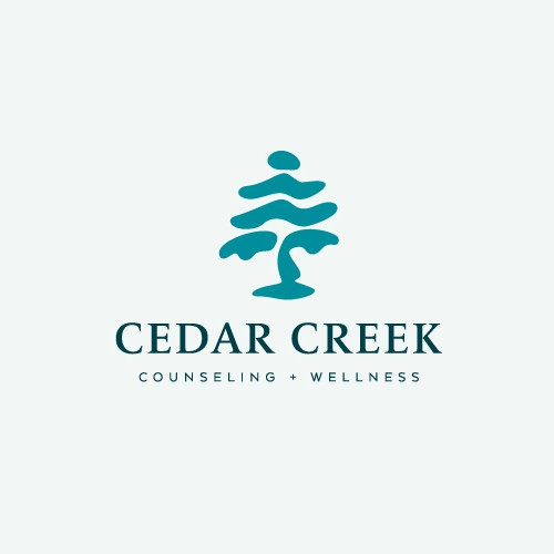 Psychology logo with the title 'Cedar Creek Counseling'