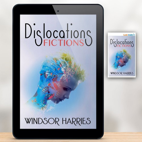 Kindle book cover with the title 'Dislocations'