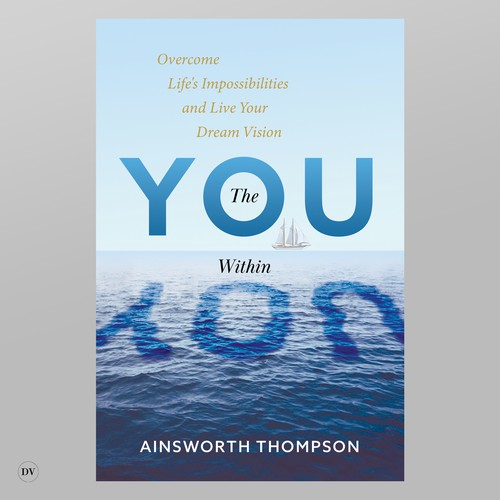 Calming design with the title 'The you within you'