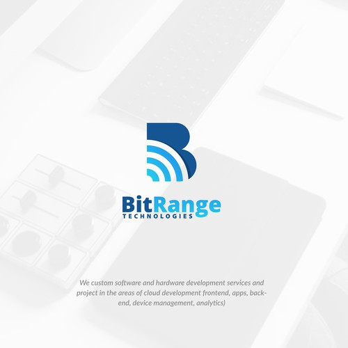 B logo with the title 'B wifi'