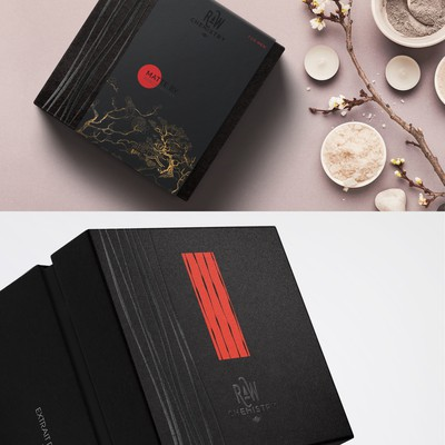 Man cosmetics, packaging design