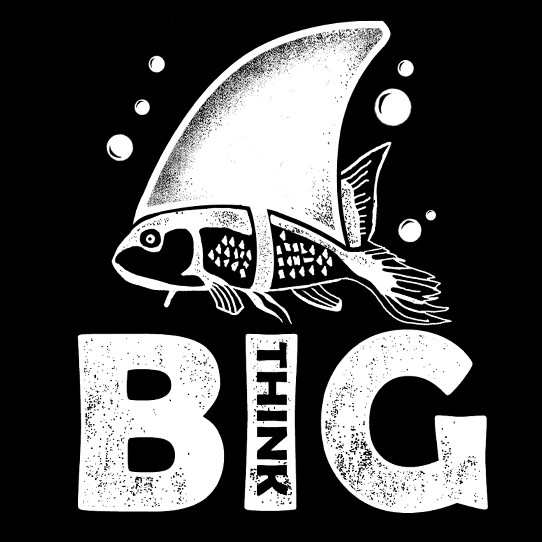 Motivational t-shirt with the title 'Think Big'