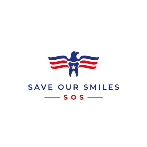 Smile design with the title 'Save Our Smiles - SOS'