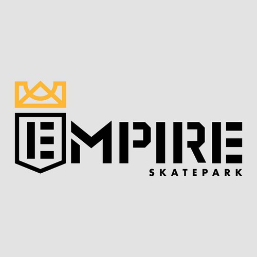 Empire design with the title 'Empire Skatepark Wordmark'