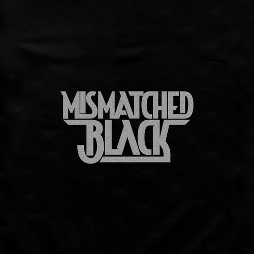 Rock logo with the title 'Bold. masculine logo for Mismatched Black'