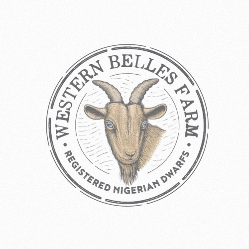 Family brand with the title 'Western belles farm'